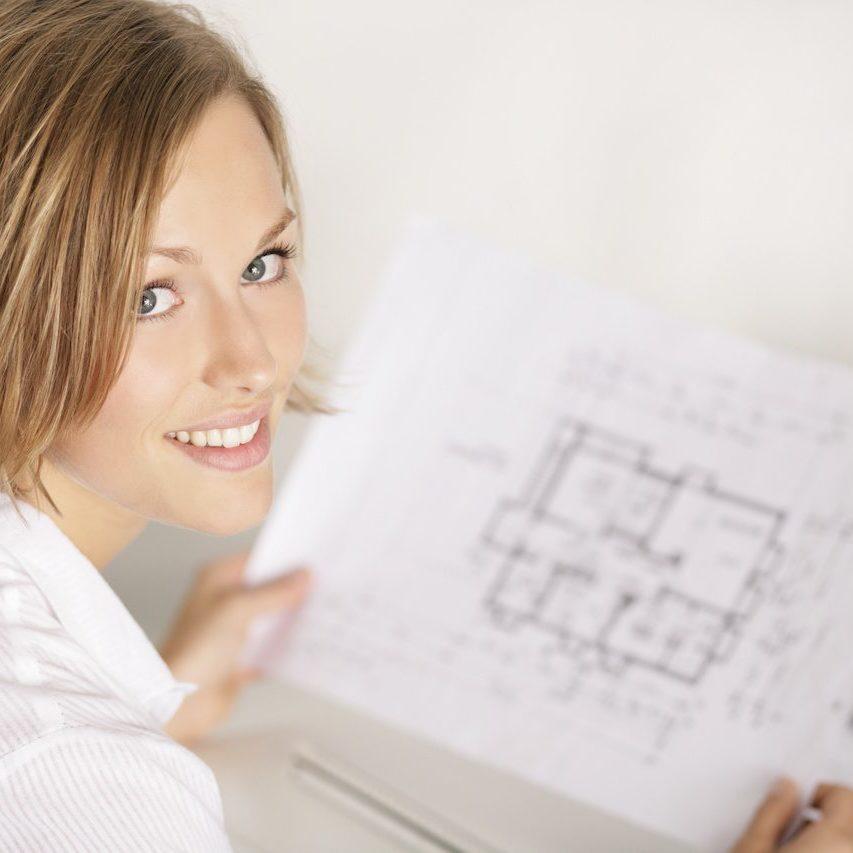 Architektur Studentin